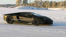 Lamborghini Jota Urus winter testing spy photos - 15.01.2010