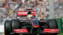 Lewis Hamilton in McLaren MP4-24 at Australian GP 27 March 2009