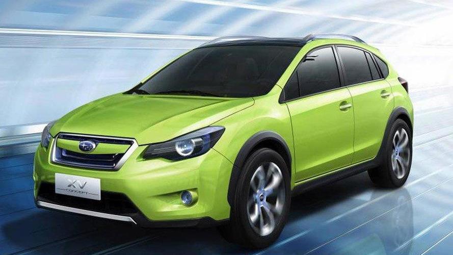 Subaru XV Concept at Auto Shanghai