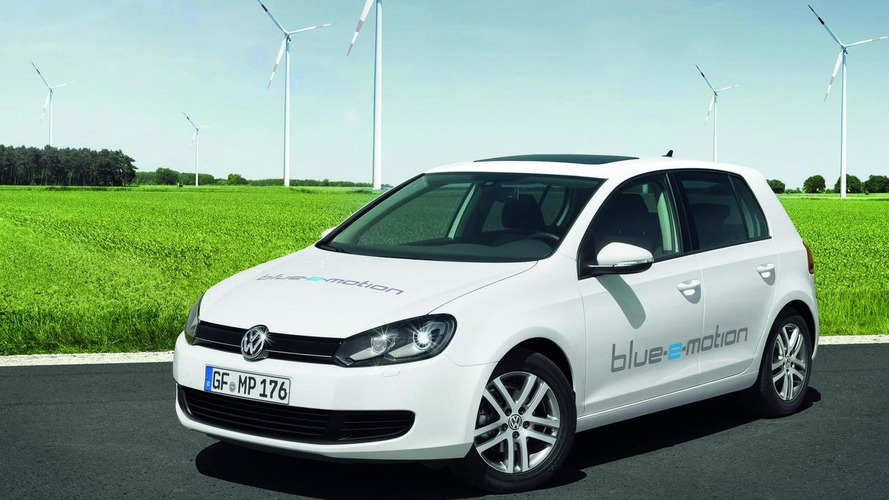 2013 Volkswagen Golf EV to be named the E-Golf - report