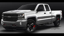 Chevrolet Silverado 1500 Red Line Series concept