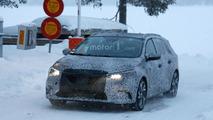 Renault Megane Estate spy photo