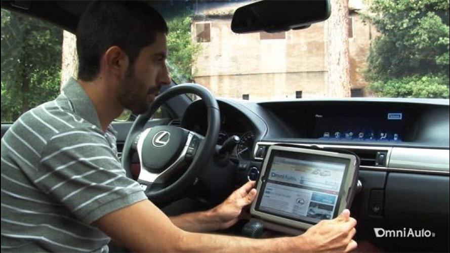 "Lexus GS Hybrid 450h, schermo infotainment da 12,3"": la prova [VIDEO]"