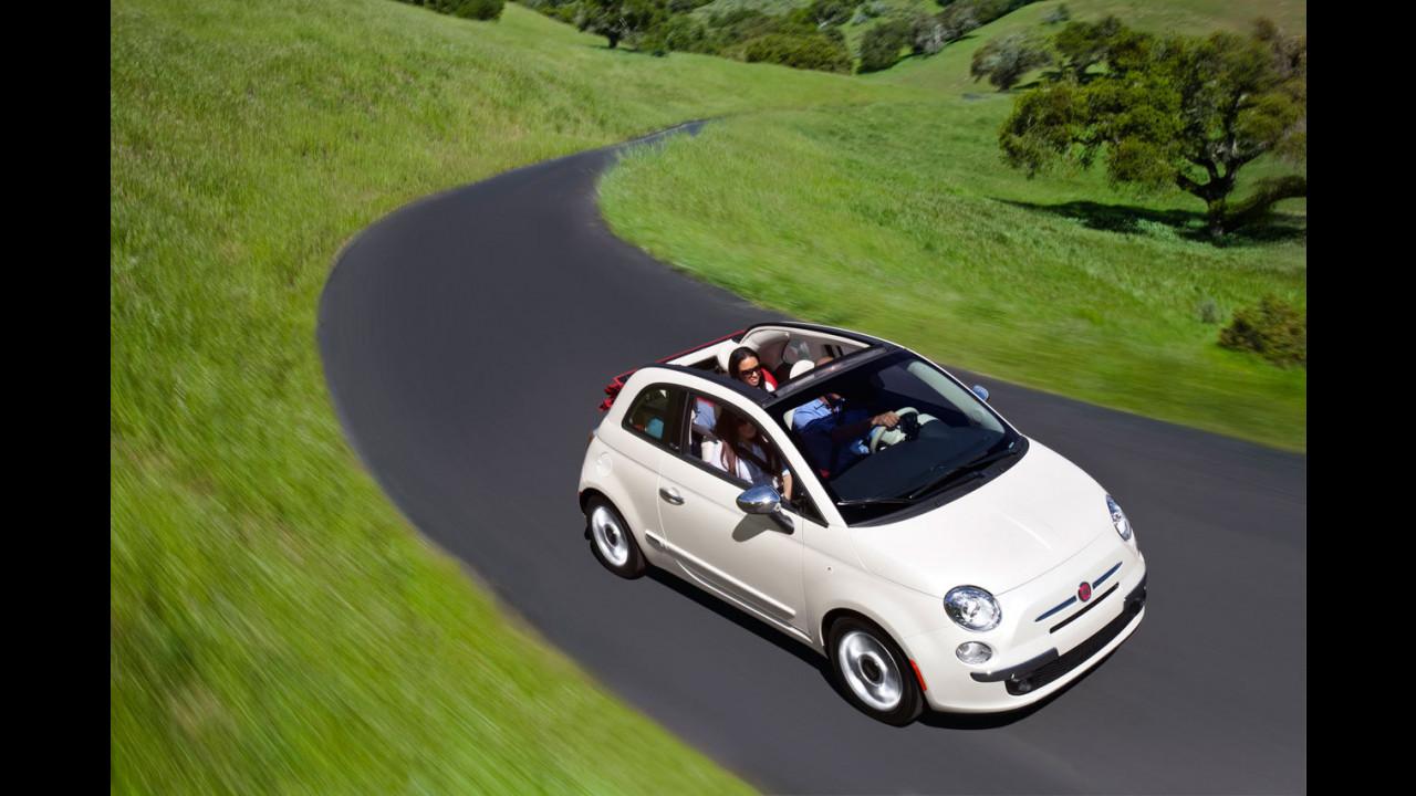 La Fiat 500C per gli USA