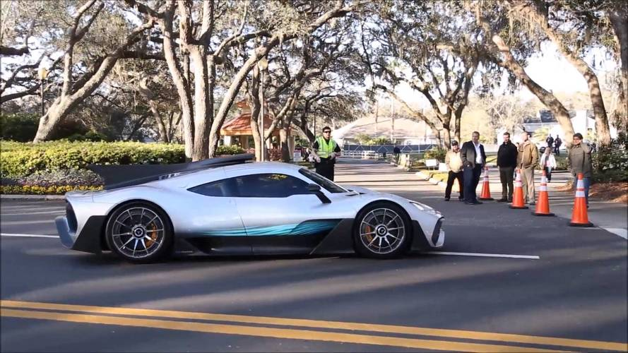 See The Mercedes-AMG Project One Driving Out In The Real World