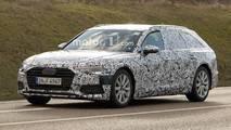 Photos espion - Audi A6 Avant (2018)
