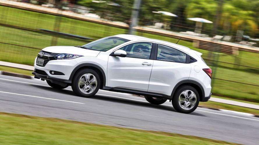 Honda aumenta preços de HR-V, WR-V e Fit
