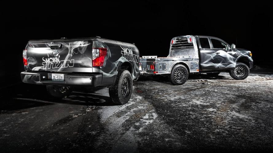 Nissan Smokin' Titan - Pick-up pour amateurs de barbecue