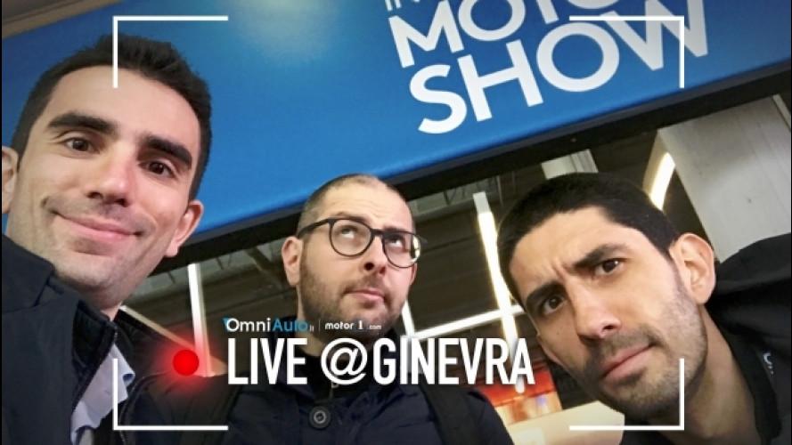 Salone di Ginevra 2017, il dietro le quinte in anteprima [VIDEO]