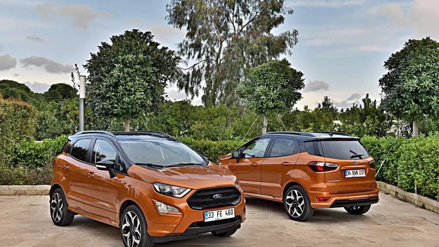 Ford EcoSport makyaj sonrasında Türkiye'de