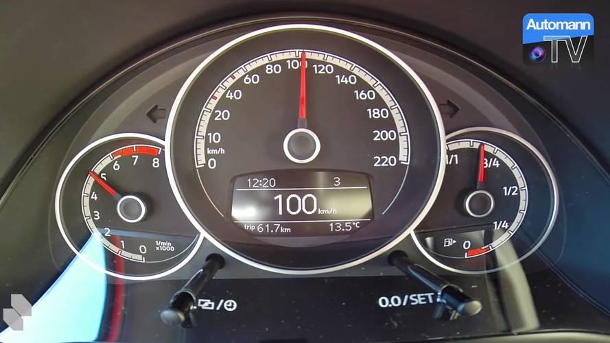 Volkswagen up! GTI 2018: así acelera de 0 a 100 km/h