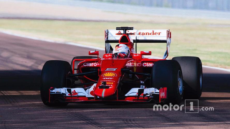 Vidéo - Sebastian Vettel teste les pneus 2017 de Pirelli