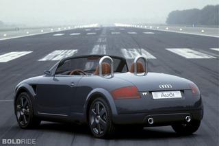 Audi TTS Roadster Concept