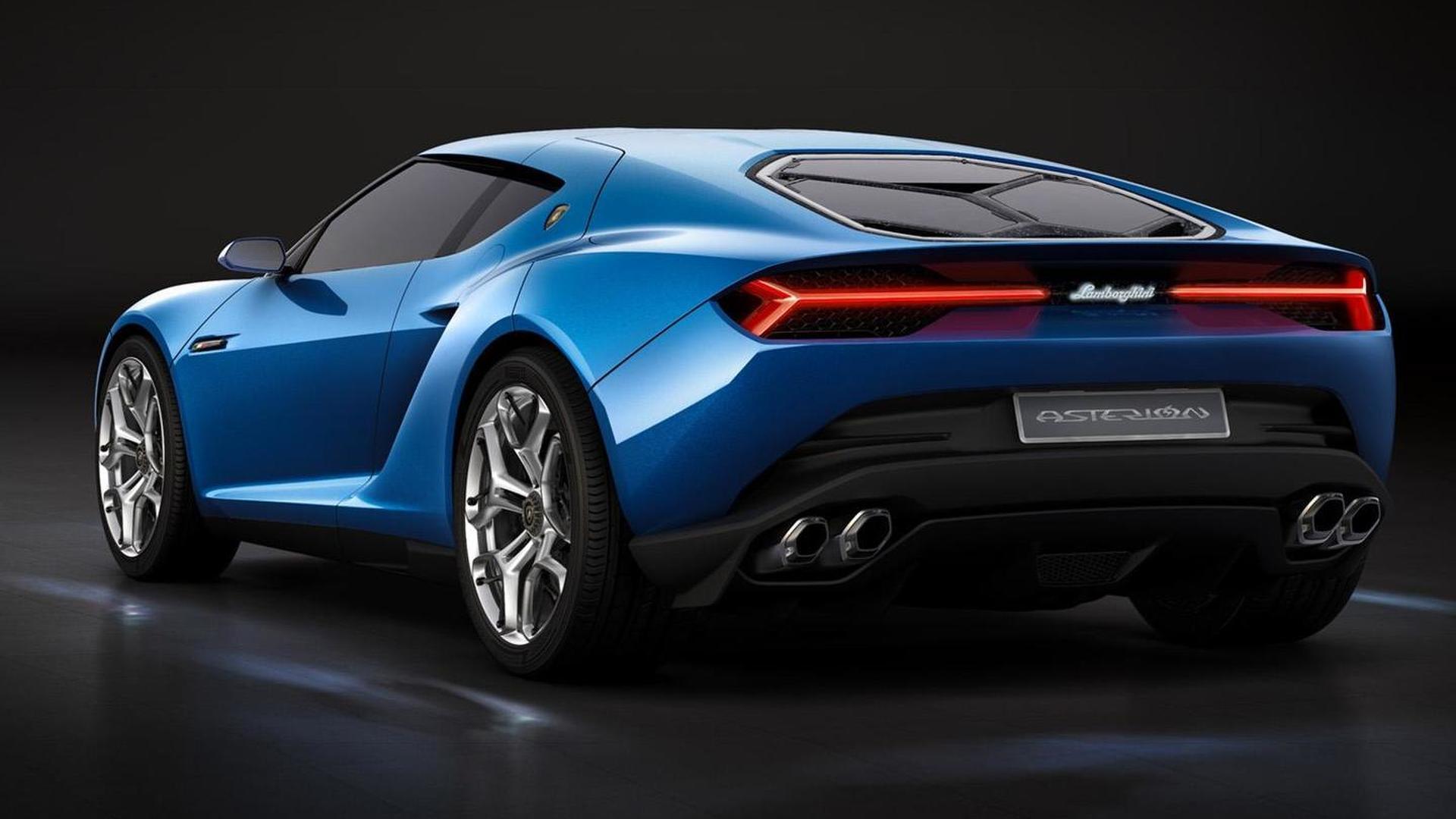 Гибридный суперкар Lamborghini Asterion