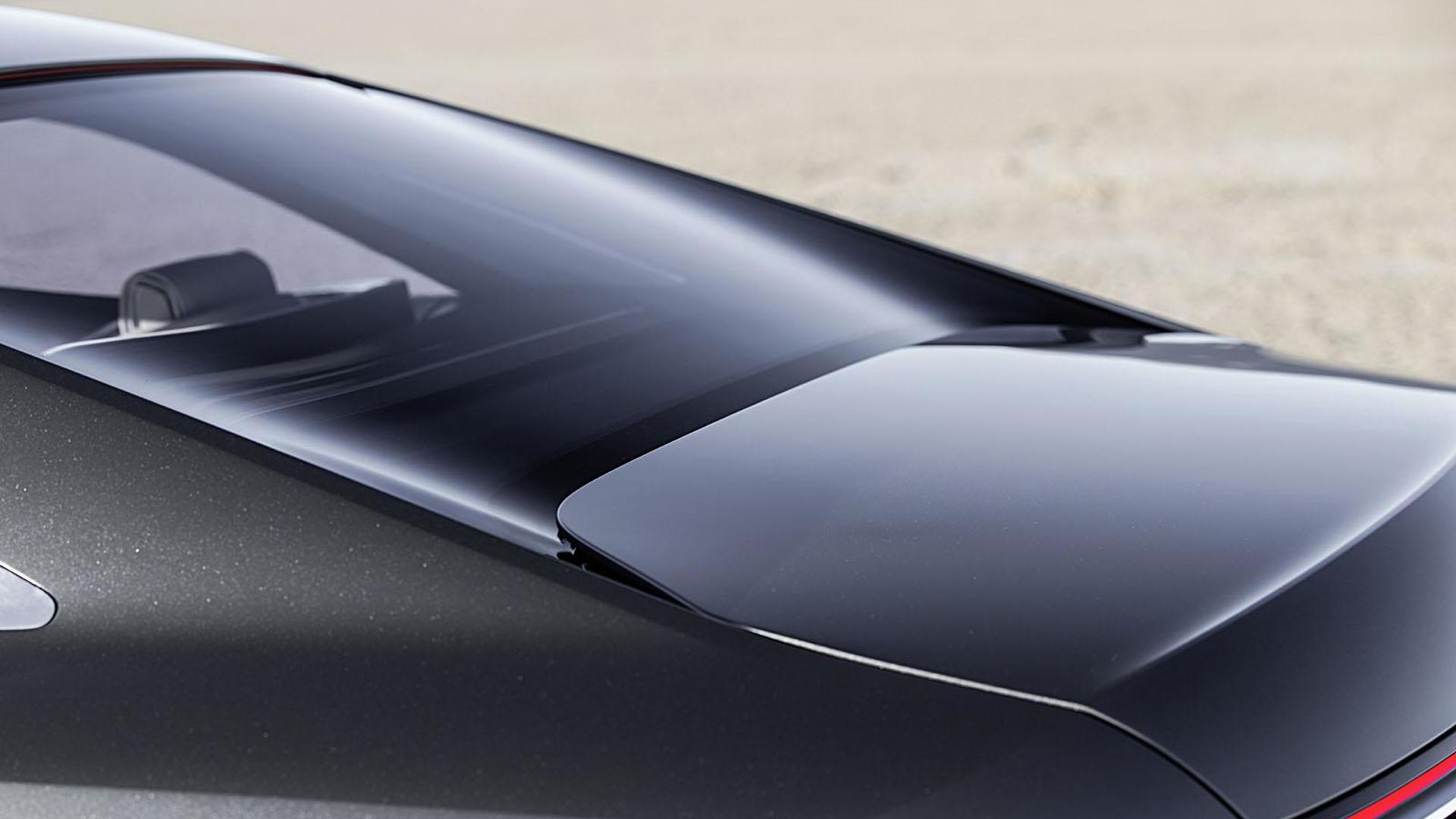 Вогнутое заднее стекло Audi Prologue Piloted Driving