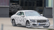 2016 Mercedes C-Class Cabrio spy photo