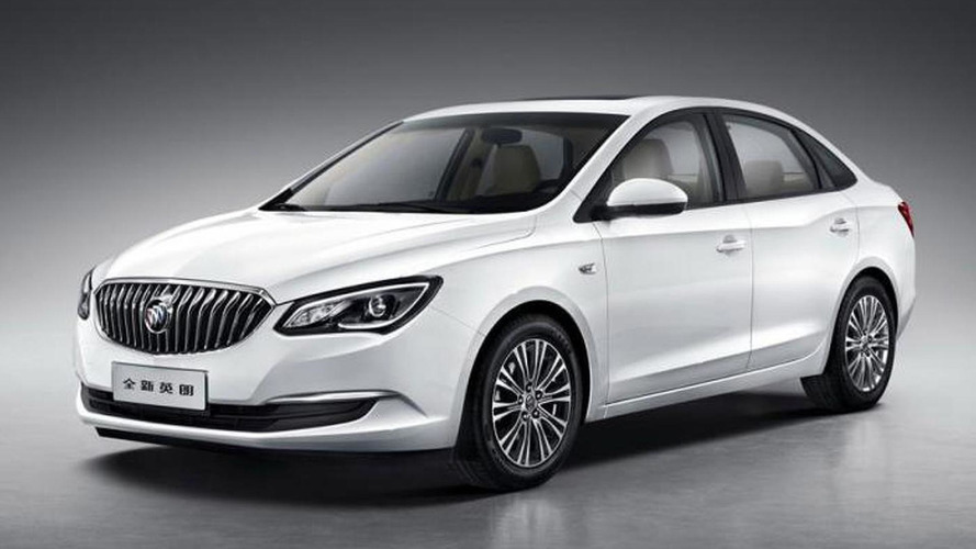 2015 Buick Excelle revealed with new engine lineup