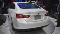 2016 Chevrolet Malibu at 2015 New York Auto Show