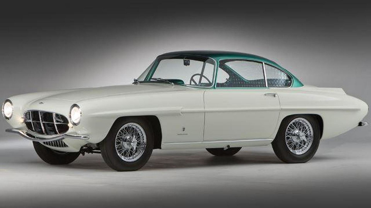 1956 Aston Martin DB24 MkII Supersonic by Carrozzeria Ghia