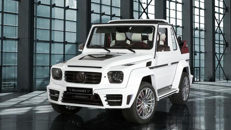Mansory Speranza announced for Geneva, based on the Mercedes G500 Cabriolet