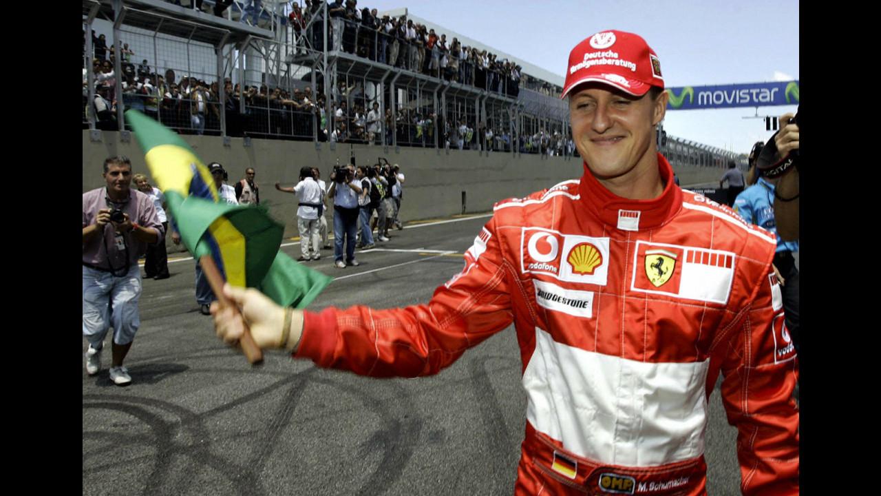 Michael Schumacher, le immagini di un Campione