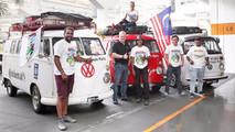 Volkswagen Combi T1 viaje por carretera