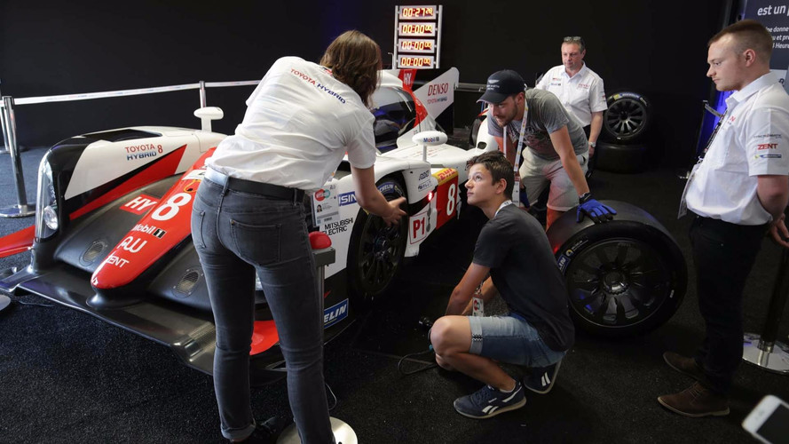 Toyota Gazoo 2017 Le Mans Record