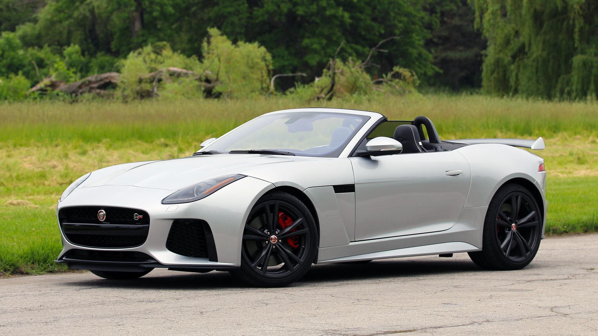 2017 Jaguar F Type SVR Convertible Review: Why Itu0027s Better To Go Topless