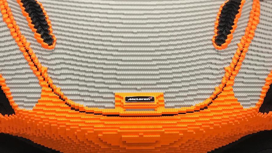 McLaren 720S'i bir de Lego olarak göreceğiz