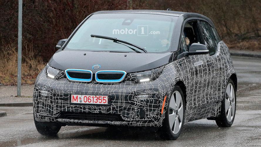 BMW i3 restlyée Photos espion