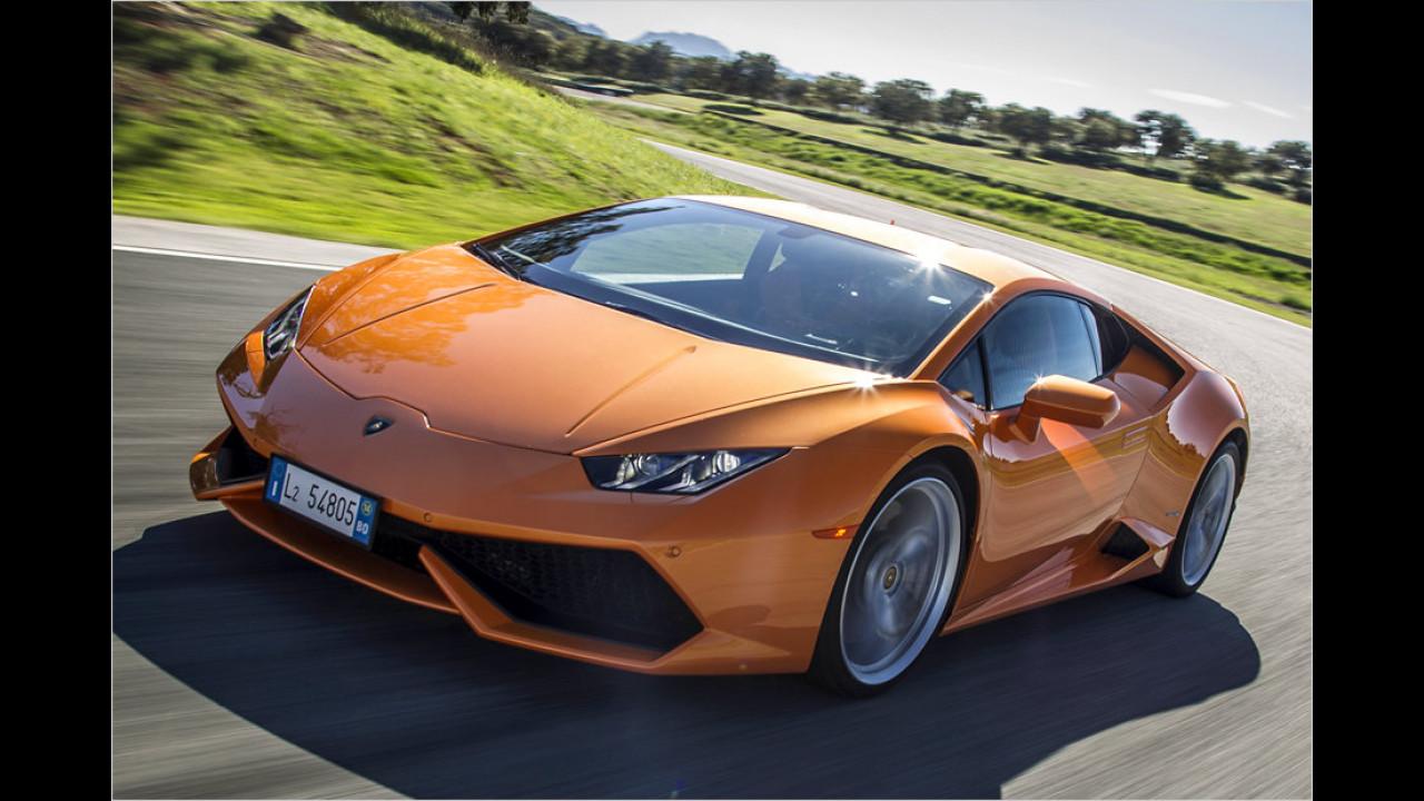 6. Platz: Lamborghini Huracán