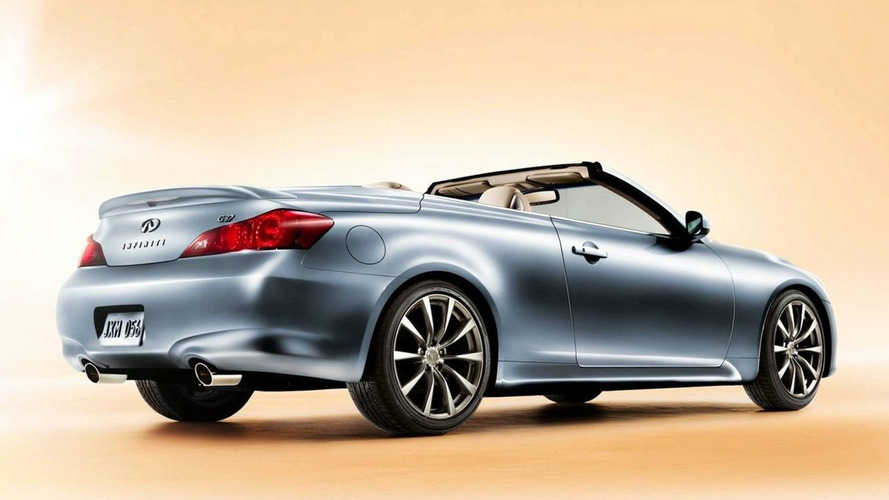 Infiniti confirms G37 Convertible for Europe