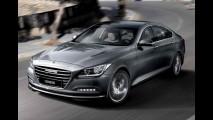 Hyundai Genesis 2014 chega com tecnologias inéditas e