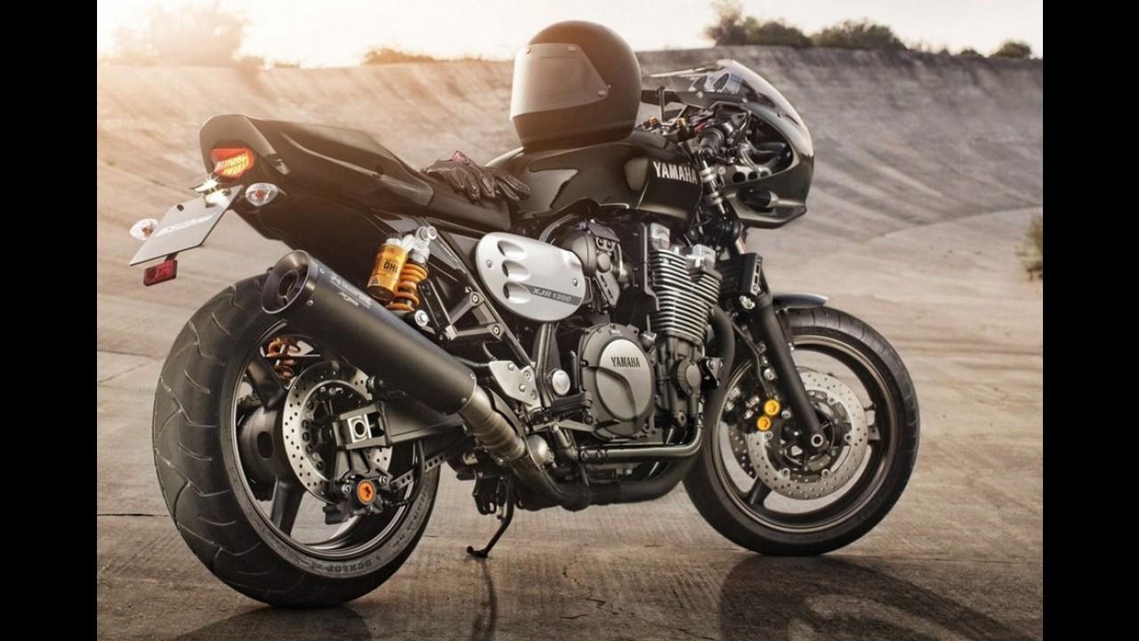 Yamaha lança versão especial retrô da XJR1300 2015