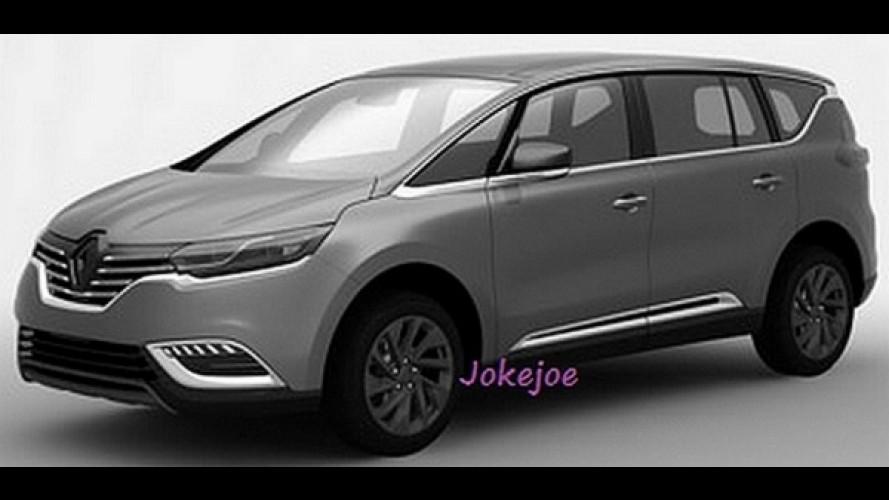 Vazou: estas são as primeiras imagens da nova geração do Renault Espace