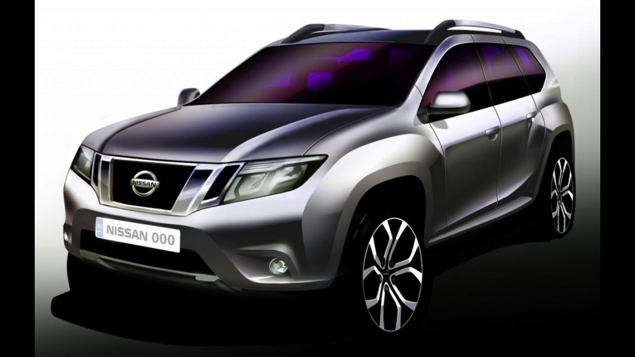 Nissan Terrano está confirmado e será lançado este ano na Índia