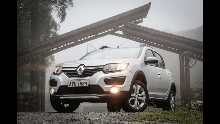 Renault atinge 7,4% de participação em abril; Sandero Stepway é destaque