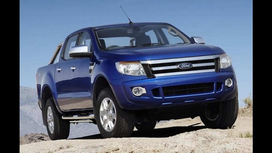 Nova Ford Ranger 2013 será lançada no primeiro semestre do ano que vem no Brasil