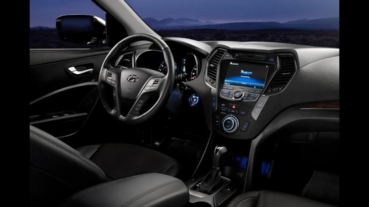 Novo Hyundai Santa Fe 2013 custará entre 24.450 e 36.050 dólares nos Estados Unidos
