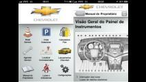 Chevrolet desenvolve aplicativo para smartphones; Cruze terá manual digital