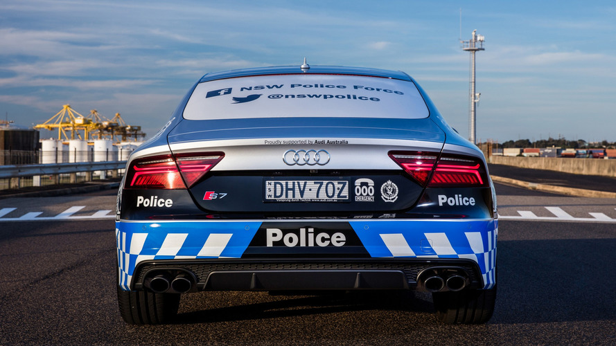 ... Audi S7 Sportback For NSW Police Force