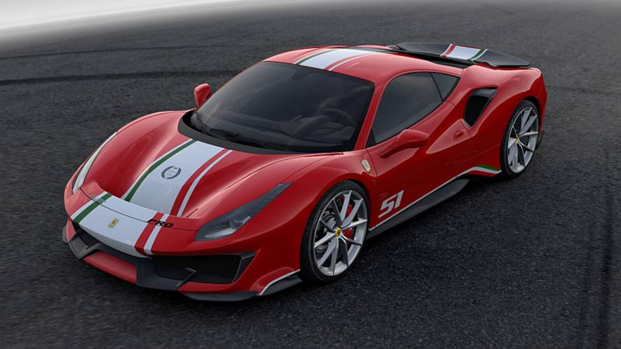 488 Pista Piloti Ferrari Is Only For Ferrari's Client Racing Drivers