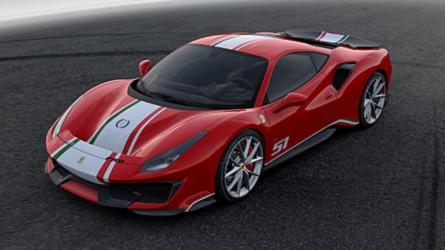 Ferrari 488 Pista 'Piloti Ferrari' 2018: solo para pilotos de la marca