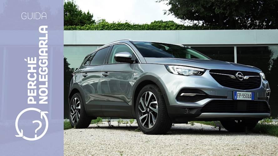 Opel Grandland X, perché noleggiarla… invece di comprarla
