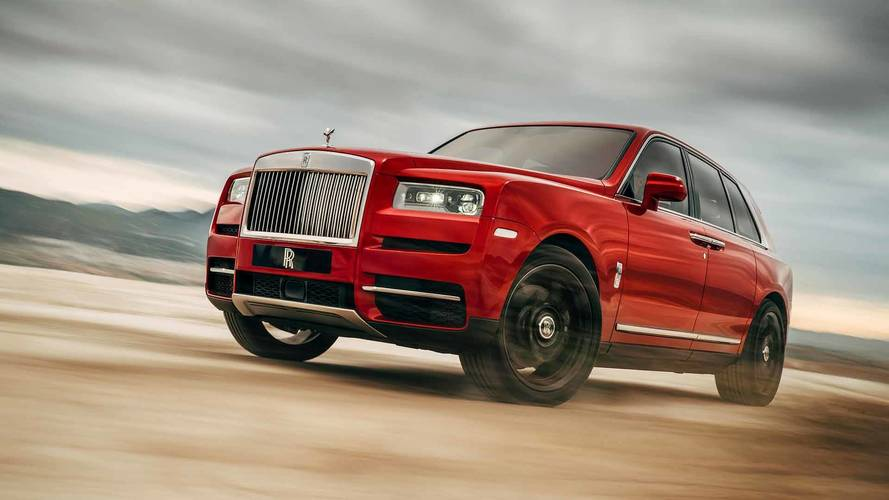 First look at the new Rolls-Royce Cullinan