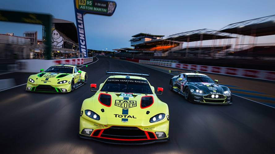 Aston Martin's Vantage GTE is making Le Mans debut this weekend