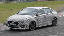 Hyundai i30 N Fastback spied at the Nurburgring