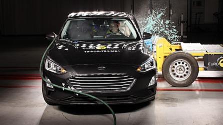 Novo Ford Focus e Volvo XC40 tiram nota máxima em teste de colisão