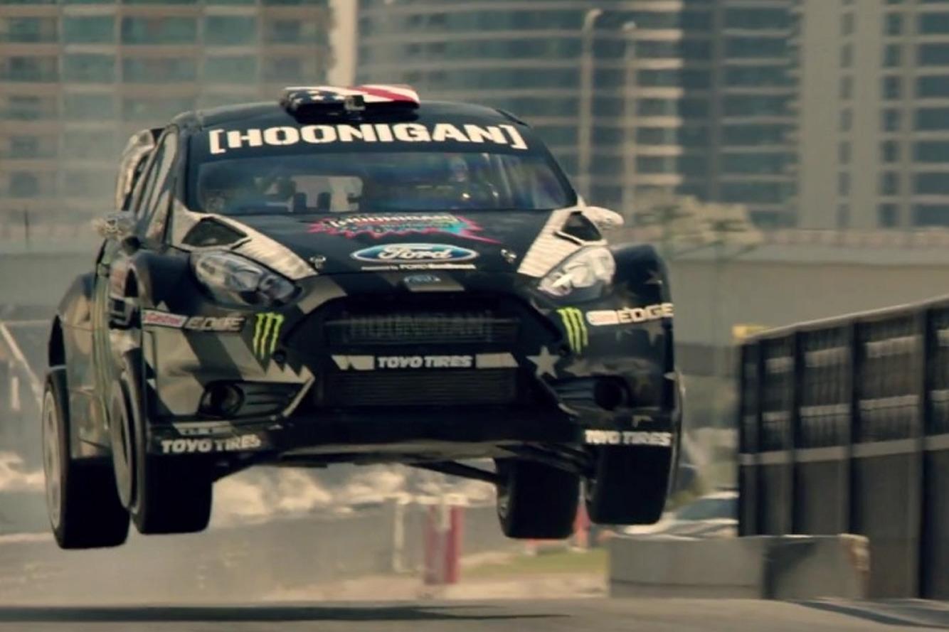 Watch Ken Block Conquer Dubai in 'Gymkhana 8'