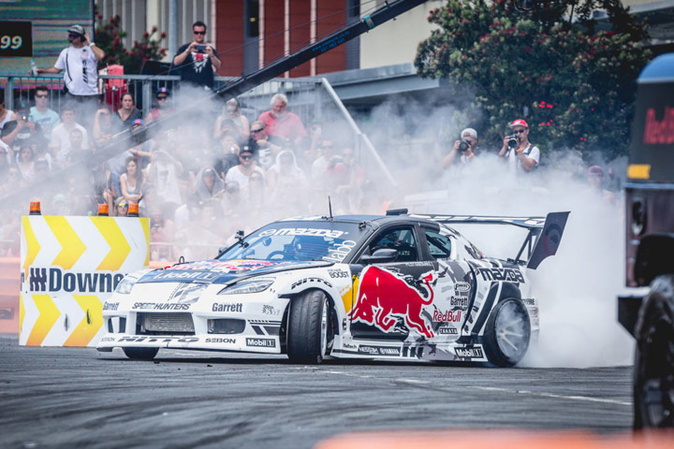 Watch 1200HP Drift Cars Speed Through New Zealand